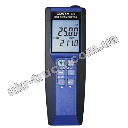 CENTER 375 Измеритель температуры с платиновым термосопротивлением