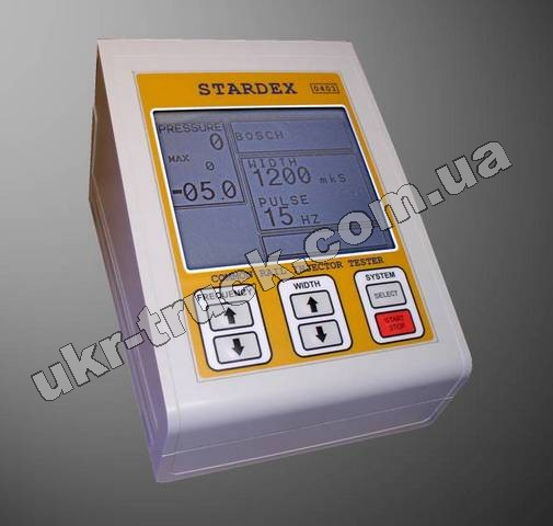 COMMON RAIL INJECTOR TESTER STARDEX CRIT 0401